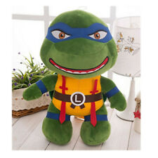 Teenage Mutant Ninja Turtles TMNT Plush stuffed toy doll 12' Leonardo blue