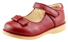 Baby Girl's School Dress Classic Shoes Mary Jane Red Wine, Beige, Toddler Size