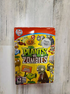 Plants Vs Zombies POP CAP GAMES WINDOWS MAC Game Of The Year EDITION