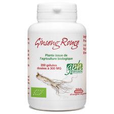 Ginseng Rouge Bio - 300 mg - 200 gélules végétales