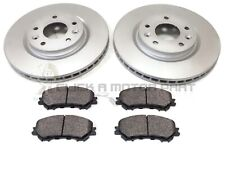 FOR NISSAN QASHQAI (J11) 2014-2019 FRONT 2 BRAKE DISCS AND PADS SET