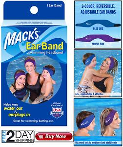 Swimming Headband Ear Band Neoprene Waterproof Protection Adjustable Durable