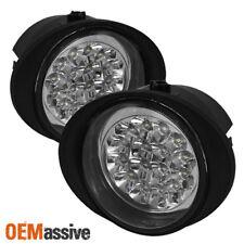 Fits 02-06 Altima Murano Fx35 Ex45 Hyper White Full LED Fog Lights Lamp W/Switch