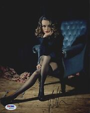 Keira Knightley Lingerie Stockings Heels Signed Autographed 8x10 Photo PSA/DNA