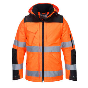 Portwest C469 Pro Hi Vis 3-in-1 Waterproof Jacket - Various Colours