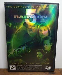 Babylon 5 Complete Season 3 (DVD, 2003, 6-Disc Set, Region 4)