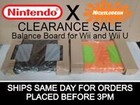 Nickelodeon Wii Fit Balance Board for Nintendo Wii CLEARANCE- SHIPS SAME DAY