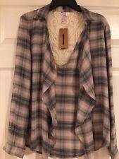 Women's Shirt Francesca's Lace Back Size:S