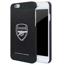Arsenal FC Official iPhone 6/6S Logo Aluminium Phone Case - Black - New