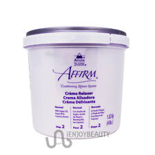 Avlon Affirm Creme Relaxer Normal 4 lbs w/ Free nail File