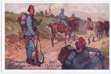 K.u.k. Postkarte,Soldat,Bosniake,Bosniaken,kuk postcard,bosniaks,soldier,ww1,Fez