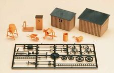 AUHAGEN HO SCALE ~ CONSTRUCTION SITE ACCESSORIES ~ plastic model KITSET #42571