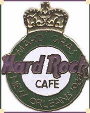 Hard Rock Cafe NEW ORLEANS 1996 Mardi Gras Crown HRC LOGO PIN