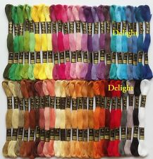 "50 Anchor Cross Stitch Cotton Embroidery Thread Floss/Skeins ""Best Deal"" SET-1"