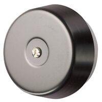Dome Door Bell  - 85db Loud - Metal Black Underdome D792 8V AC Friedland