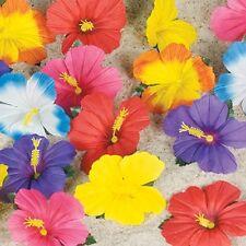 96 Hibiscus Flower Petals Luau Party Decor Lot Hawaiian Tropical Table Decor