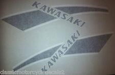 Kawasaki KE125 KE175 KD175 Tank decals 1976 1977 1978
