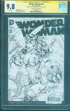 Wonder Woman 48 CGC 2X SS 9.8 Finch Justice League 2018 Movie Coloring Book Ed