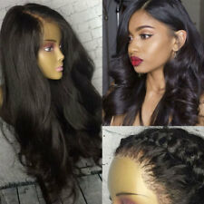 360 Lace Frontal Wig 100% Brazilian Virgin Human Hair Silk Top Full Lace Wigs #5