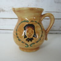 Vintage Pennsbury Pottery Creamer Pitcher Amish Woman Collectible USA