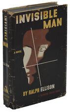 Invisible Man ~ RALPH ELLISON ~ First Edition 1952 ~ 1st Printing ~ Random House