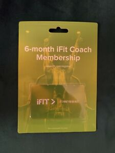 iFit Coach 6-Month Membership - Brand New