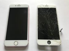 iPhone 6 7 8 Cracked Glass Broken LCD Screen Repair Replacement Mail In Service