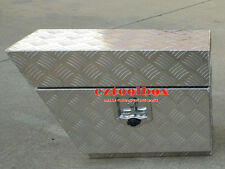 LHS Aluminium Undertray Under Tray Underbody Ute Tool Box toolbox 600x250x400mm