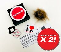 OFFICIAL MICROMUFF ORIGINAL X2 mic windshields. Direct from UK manufacturer