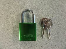 ABUS 72/40 SERIES GREEN 6 PIN ALUMINUM BODY PADLOCK