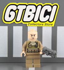 LEGO SUPER HEROES DC MINIFIGURA `` COLONEL HARDY ´´  Ref 76003  100X100 ORIGINAL
