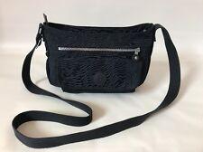 Kipling Dark Blue Nylon Syro Crossbody Mid Sized Shoulder Bag