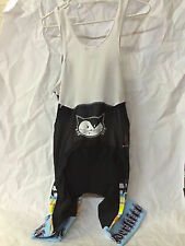 Vanderkitten by Pactimo Cycling Bib Shorts Size Large EUC Blue