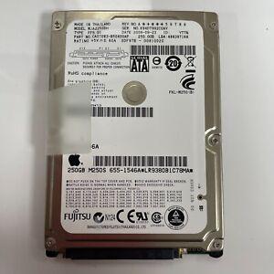 "Fujitsu 250Gb 2.5"" Laptop Hard Drive MJA2250BH Apple MacBook SATA Tested H03"