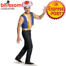 Super Mario Bros. Toad Adult Costume Kit