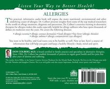 Hiller, Steve : The Bible Cure for Allergies: Ancient Tr CD