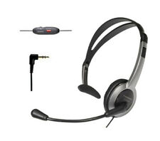 Panasonic Kx-Tca430 Bts Over the Head Headset with Noise-Canceling Microphone