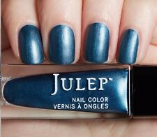 NEW! Julep nail polish SONIA ~ Blue steel matte metallic 0.27 fl.oz.