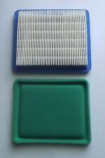 6 X Air filters & pre filters to suit Briggs and Stratton Quantum engines 491588