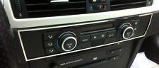D BMW e90 e91 CROMO QUADRO PER CLIMA Portaglielo unità in acciaio inox lucidato - 1x QUADRO