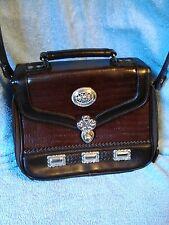 Travel Organizer Leather Shoulder Bag New