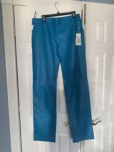 versace leather pants
