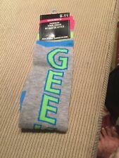 Women' Fashion Knee Highs Mi-Bas De Style Socks Size 9-11 Gray & Green