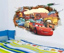 Large Cars Boys Removable Wall Sticker Decals Nursery NEW XMAS Gift 70x50cm