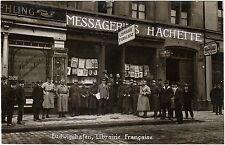 Ludwigshafen sul Reno, Franz. Buchhandlung librairie française FOTO ORIGINALE 1923