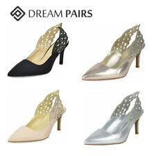 DREAM PAIRS Women's Pump Shoes Low Heel Kitten Slingback Slip On Dress Shoes