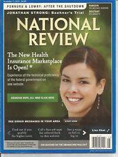NATIONAL REVIEW, NOVEMBER 11, 2013, VOL. LXV, NO. 21 ~