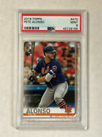 PETE ALONSO 2019 Topps ROOKIE RC #475! PSA MINT 9! METS! CHECK MY OTHER ITEMS!