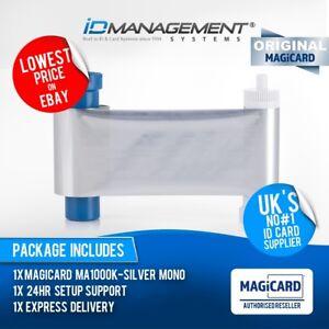 Magicard EN3 Silver Printer Ribbon for Enduro/Rio Pro/Pronto • 1000 Prints