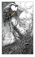 Aaron Horkey To Harrow A Naif RARE Print Poster ie Esao Andrews Greg Simkins